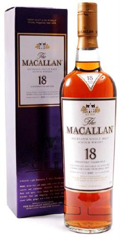 Macallan Scotch 18 Year 86@
